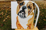 Personalized Oil Painting From Photos, handcraft art on Canvas-Show Case DFC101041-12