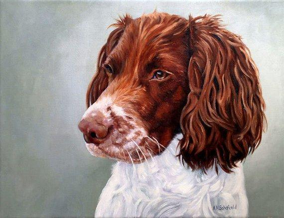 Personalized Oil Painting From Photos, handcraft art on Canvas-Show Case BGD101914-20
