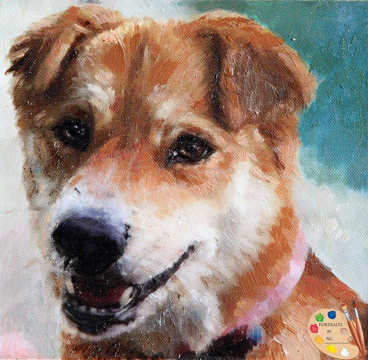 Personalized Oil Painting From Photos, handcraft art on Canvas-Show Case OMO102491-36