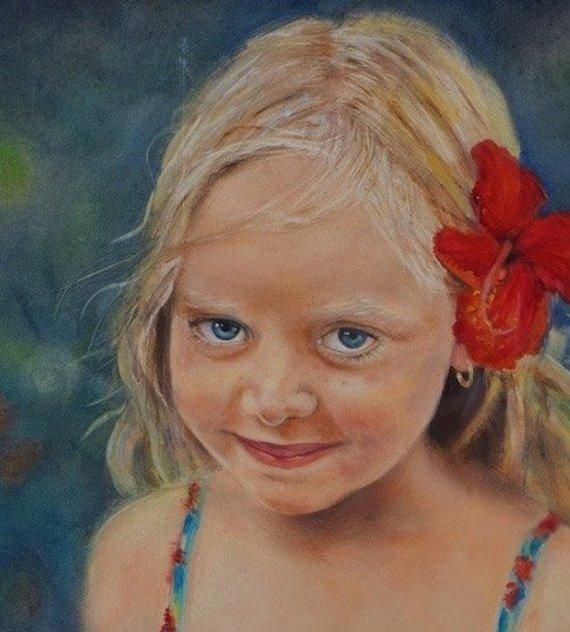 Personalized Oil Painting From Photos, handcraft art on Canvas-Show Case HER101328-36