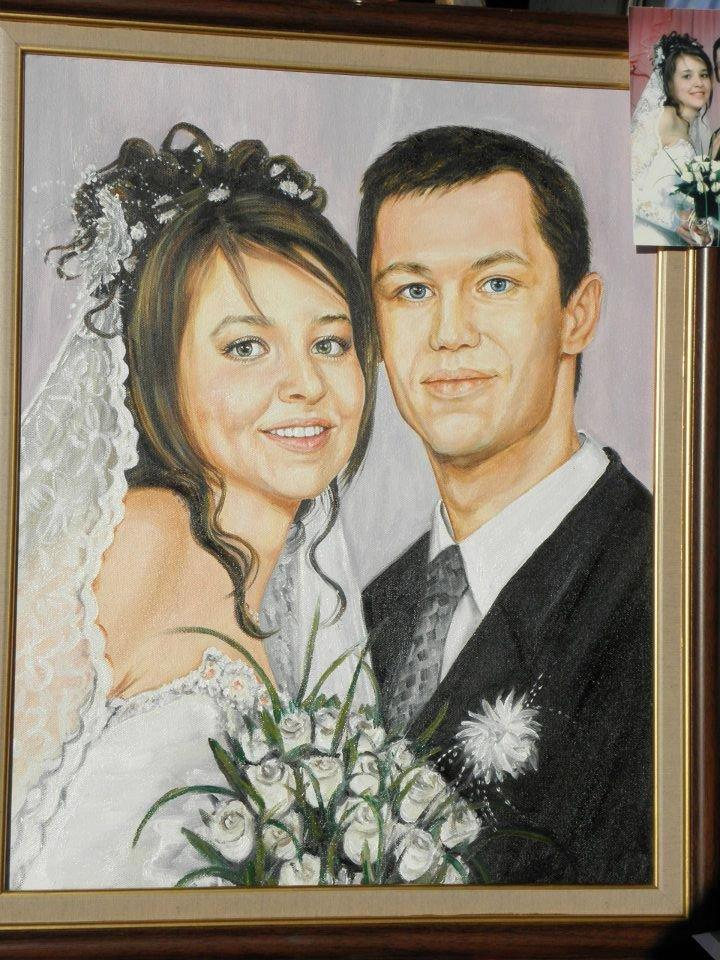 Personalized Oil Painting From Photos, handcraft art on Canvas-Show Case MKL101778-24