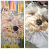 Personalized Oil Painting From Photos, handcraft art on Canvas-Show Case FAN101708-36