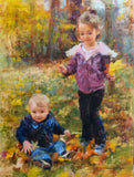 Personalized Oil Painting From Photos, handcraft art on Canvas-Show Case ILS101459-30