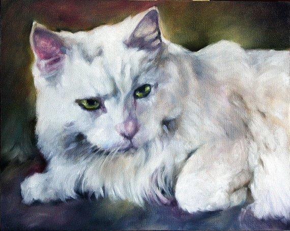 Personalized Oil Painting From Photos, handcraft art on Canvas-Show Case DEF102609-24