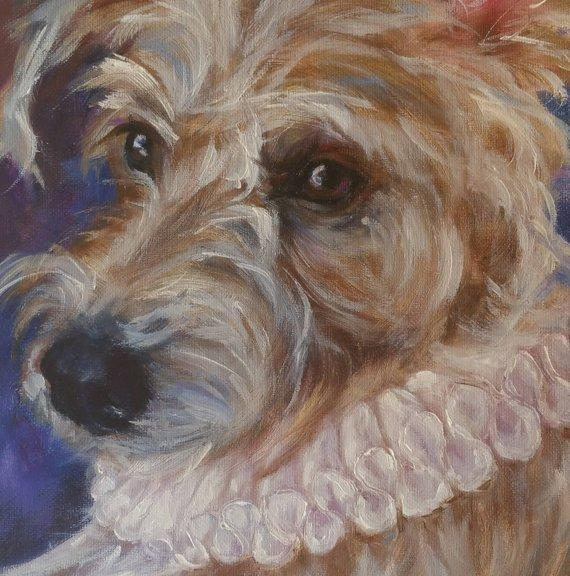 Personalized Oil Painting From Photos, handcraft art on Canvas-Show Case HIJ102613-48