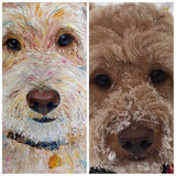 Personalized Oil Painting From Photos, handcraft art on Canvas-Show Case PMD101680-24