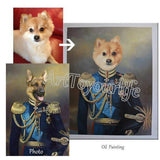 Personalized Oil Painting From Photos, handcraft art on Canvas-Show Case TPS102262-48
