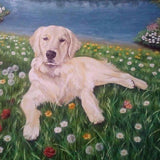 Personalized Oil Painting From Photos, handcraft art on Canvas-Show Case GRO101583-24