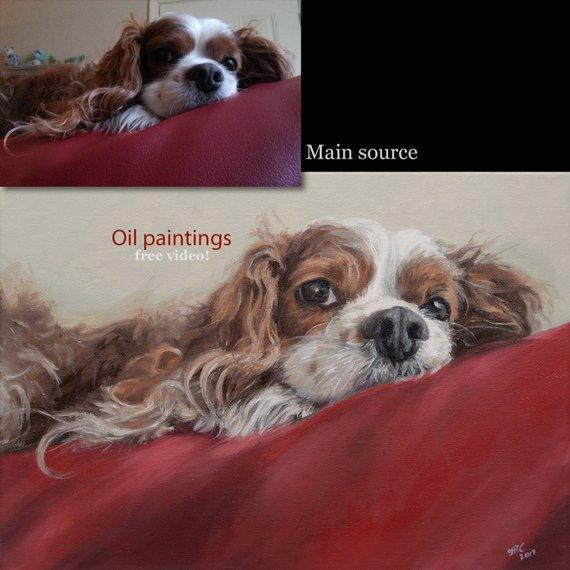 Personalized Oil Painting From Photos, handcraft art on Canvas-Show Case DLC101155-30