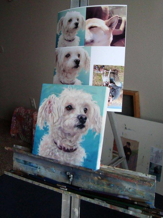 Personalized Oil Painting From Photos, handcraft art on Canvas-Show Case GNC102348-36
