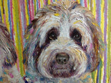 Personalized Oil Painting From Photos, handcraft art on Canvas-Show Case LJE102560-12
