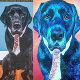 Personalized Oil Painting From Photos, handcraft art on Canvas-Show Case AAF101808-36