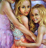 Personalized Oil Painting From Photos, handcraft art on Canvas-Show Case JOL101922-72