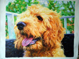 Personalized Oil Painting From Photos, handcraft art on Canvas-Show Case JRC102331-12