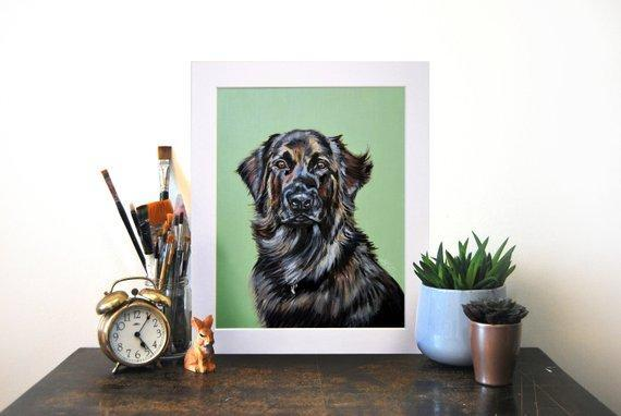 Personalized Oil Painting From Photos, handcraft art on Canvas-Show Case OPE102316-48