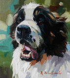 Personalized Oil Painting From Photos, handcraft art on Canvas-Show Case OLO102472-30