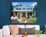 Personalized Oil Painting From Photos, handcraft art on Canvas-Show Case OON101906-12