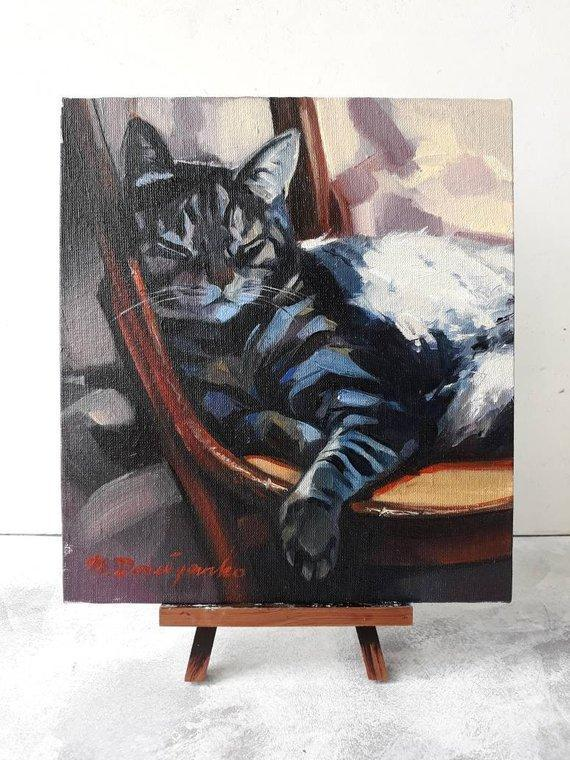 Personalized Oil Painting From Photos, handcraft art on Canvas-Show Case JKF101028-24