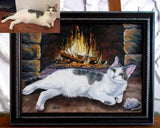 Personalized Oil Painting From Photos, handcraft art on Canvas-Show Case MDC101219-20
