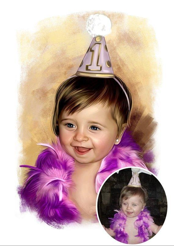 Personalized Oil Painting From Photos, handcraft art on Canvas-Show Case RML101760-72