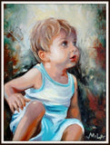 Personalized Oil Painting From Photos, handcraft art on Canvas-Show Case NCR102391-30