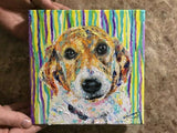 Personalized Oil Painting From Photos, handcraft art on Canvas-Show Case KER101692-48