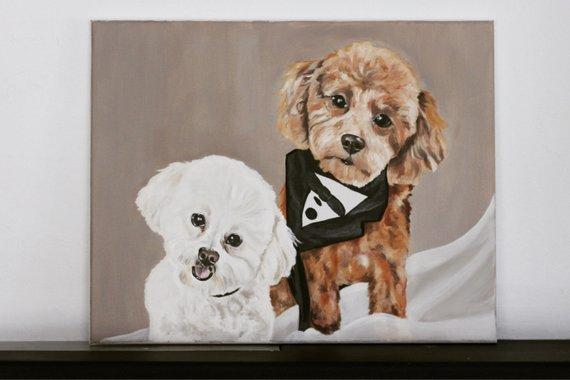 Personalized Oil Painting From Photos, handcraft art on Canvas-Show Case RDO101165-20