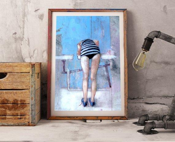 Personalized Oil Painting From Photos, handcraft art on Canvas-Show Case GGL101814-72