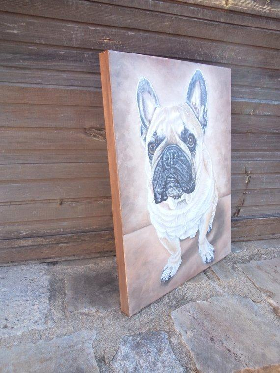 Personalized Oil Painting From Photos, handcraft art on Canvas-Show Case FCB101750-12