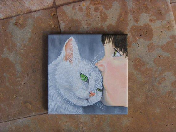 Personalized Oil Painting From Photos, handcraft art on Canvas-Show Case OFI101970-36