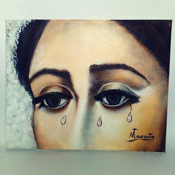 Personalized Oil Painting From Photos, handcraft art on Canvas-Show Case SNG102546-48