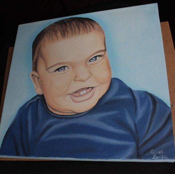 Personalized Oil Painting From Photos, handcraft art on Canvas-Show Case MIL102144-20