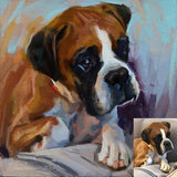 Personalized Oil Painting From Photos, handcraft art on Canvas-Show Case LDE101237-12