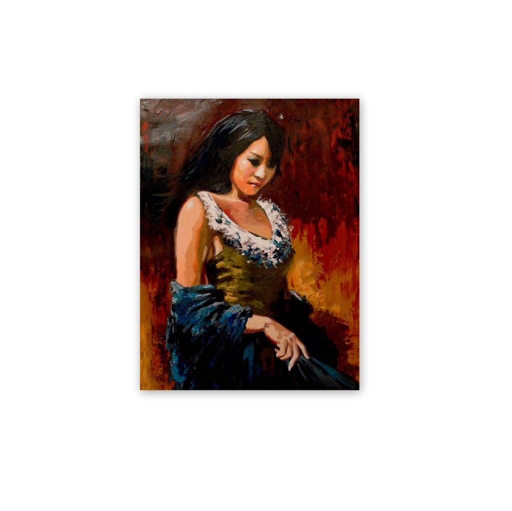 Personalized Oil Painting From Photos, handcraft art on Canvas-Show Case KIR102181-48