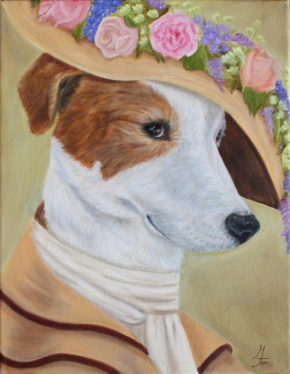 Personalized Oil Painting From Photos, handcraft art on Canvas-Show Case OHS101675-30