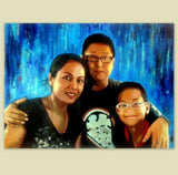 Personalized Oil Painting From Photos, handcraft art on Canvas-Show Case LIH101756-30