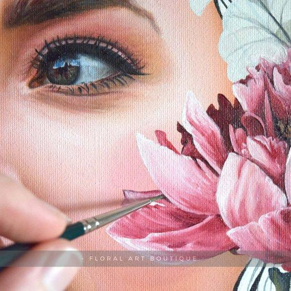 Personalized Oil Painting From Photos, handcraft art on Canvas-Show Case NOJ101506-48