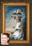 Personalized Oil Painting From Photos, handcraft art on Canvas-Show Case GIL101436-72