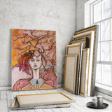 Personalized Oil Painting From Photos, handcraft art on Canvas-Show Case RRO102619-12