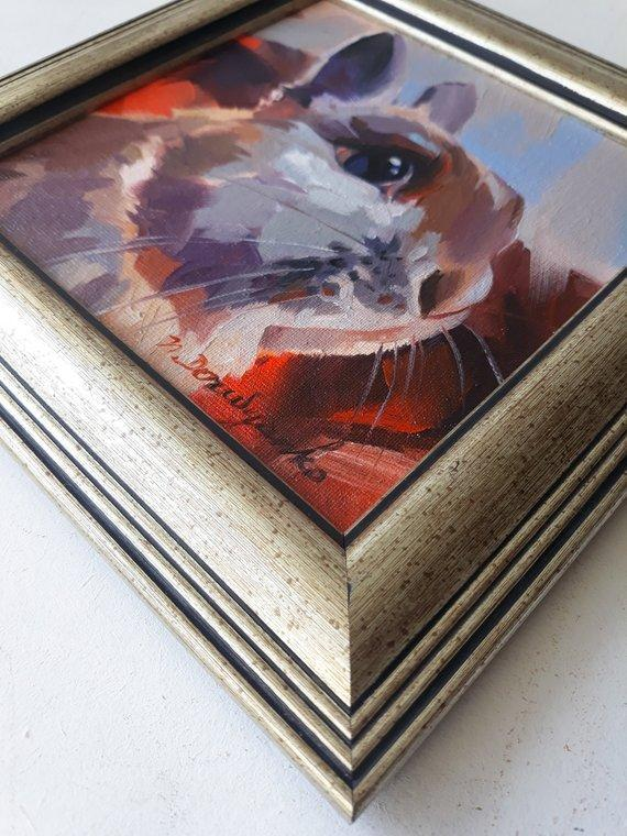 Personalized Oil Painting From Photos, handcraft art on Canvas-Show Case IFS102538-24