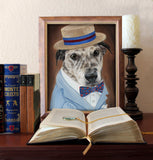 Personalized Oil Painting From Photos, handcraft art on Canvas-Show Case TBE102300-72