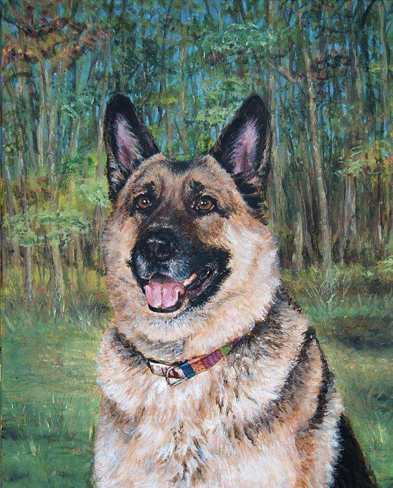Personalized Oil Painting From Photos, handcraft art on Canvas-Show Case GOO101979-48