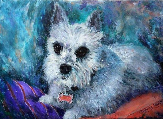 Personalized Oil Painting From Photos, handcraft art on Canvas-Show Case QHE101555-12
