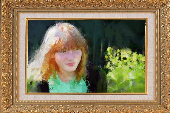 Personalized Oil Painting From Photos, handcraft art on Canvas-Show Case CPK102532-48