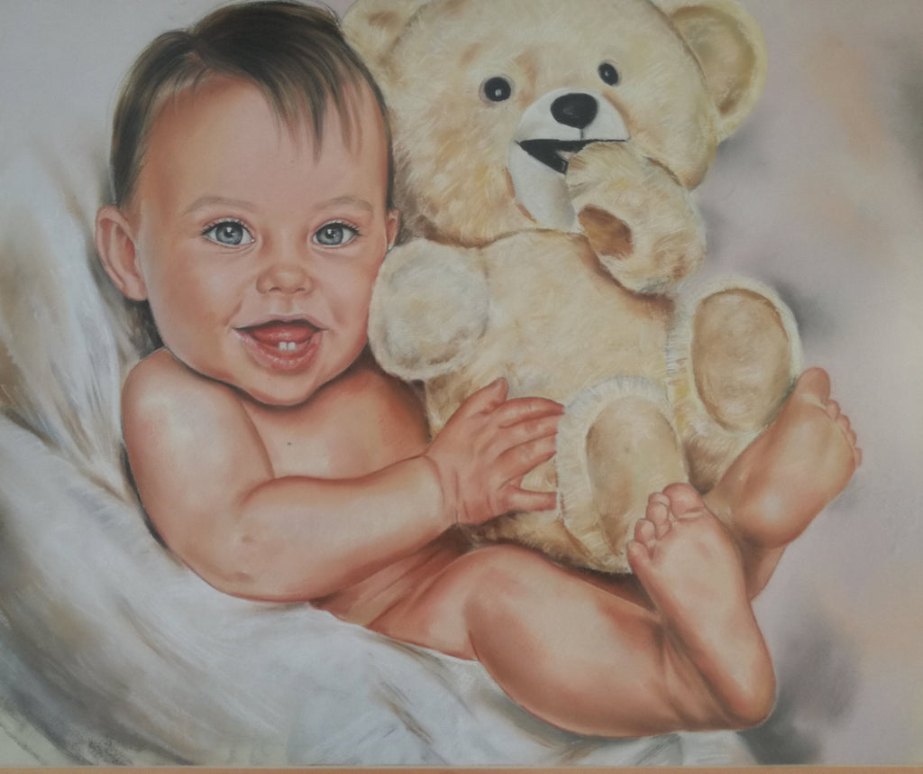 Personalized Oil Painting From Photos, handcraft art on Canvas-Show Case HJM101437-24