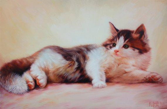 Personalized Oil Painting From Photos, handcraft art on Canvas-Show Case NHG102105-36