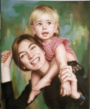 Personalized Oil Painting From Photos, handcraft art on Canvas-Show Case MMF101012-36