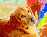 Personalized Oil Painting From Photos, handcraft art on Canvas-Show Case MAL102371-12