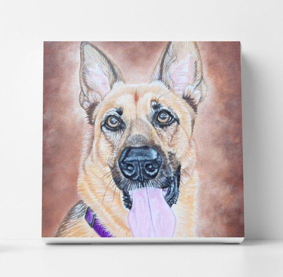 Personalized Oil Painting From Photos, handcraft art on Canvas-Show Case ROO101802-36