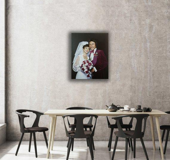 Personalized Oil Painting From Photos, handcraft art on Canvas-Show Case TTS102603-20